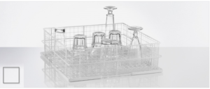 Gerilsaneerde draadkorven voor glazen